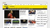 BBC Sport launches beta versions of new homepages