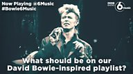 #Bowie6Music – Help us compile the ultimate David Bowie-inspired playlist