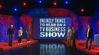 Unlikely Things to Hear on a TV Business Show