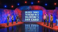 Unlikely Things to Read in a Valentine's Card