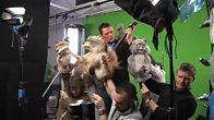 Scott Mills and the Mongrels Green Screen