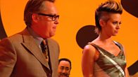 Vic Reeves dances with Kimberly Wyatt