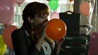 Caroline Inhales Helium