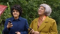 Meera Syal and Nina Wadia