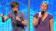 Chris Ramsey and Kerry Godliman