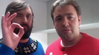 Backstage Buzzcocks with Joe Wilkinson and Jason Manford