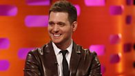 Michael Buble sings a text message