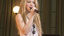 Shakira Live Lounge