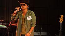 Bruno Mars Live Lounge