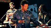Roots Manuva with The Invisible 6 Music Live at Maida Vale