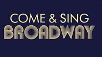 Come and Sing Broadway Get Involved