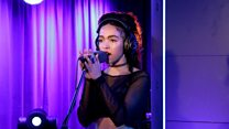 FKA twigs Live Lounge