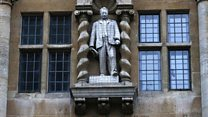 University of Oxford chancellor defends Cecil Rhodes statue