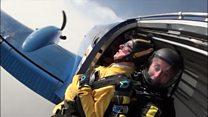 D-Day veteran celebrates 100th birthday with skydive