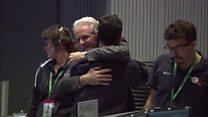 Scientists react as Rosetta 'crash lands'