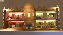 Gingerbread house takes 500 hours to make