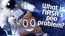 What is NASA's poo problem?