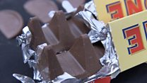 What chocolate bars are shrinking?