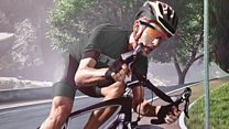 Smart glasses help cyclists get fitter