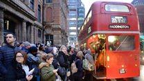Tube strike disrupts millions of journeys