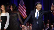 Highlights of Obama farewell speech
