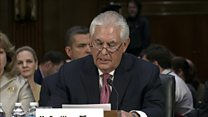 Tillerson 'Russia today poses a danger'