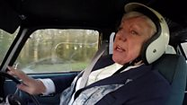 Rally driving gran returns to racing