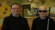 Meet the blind cook and his autistic helper
