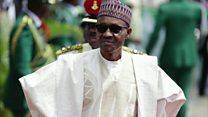Shin Buhari yana gida ne ko yana asibiti?
