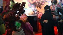 Ribuan orang padati festival Comic-con di Arab Saudi