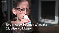 Abby Solomon, arwaye indwara yo kudasonza