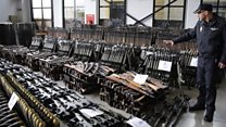 Thousands of weapons seized in Spain