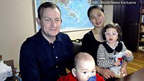 Prof Kelly and family - the full interview