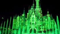 Landmarks go green for St Patrick's Day