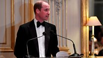 William delivers message to France from Queen