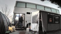 The homeless shelter on four wheels
