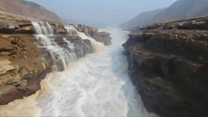 Watch a wonderful waterfall