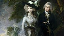 Famous Gainsborough damaged in attack