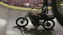 Indonesia's female 'devil wheel' riders
