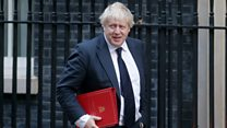 Boris Johnson struggles in interview