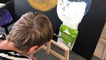 The autistic teenager amazing the art world