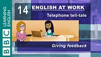 English at Work - 14 - Giving feedback