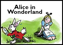 Alice in Wonderland inline promo