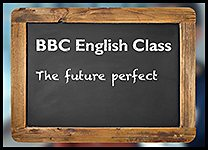 English Class Future perfect inline promo