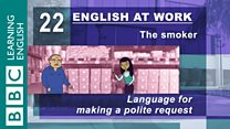 English at Work - 22 - Language for making a polite request