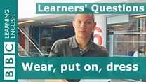 Learners' questions 24