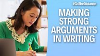 Academic Writing – Language of argument homepage image