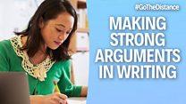 Academic Writing – Language of argument homepage image