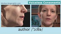 The sounds of English: Voiceless consonants: 'th'