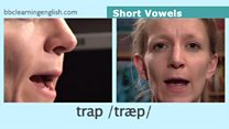 The Sound of English: Short vowels: trap